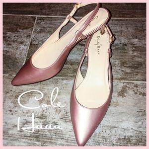 e3757ac1af0 Cole Haan Shoes - Cole Haan Women s Sling Sandal Juliana Pink Sz 6B